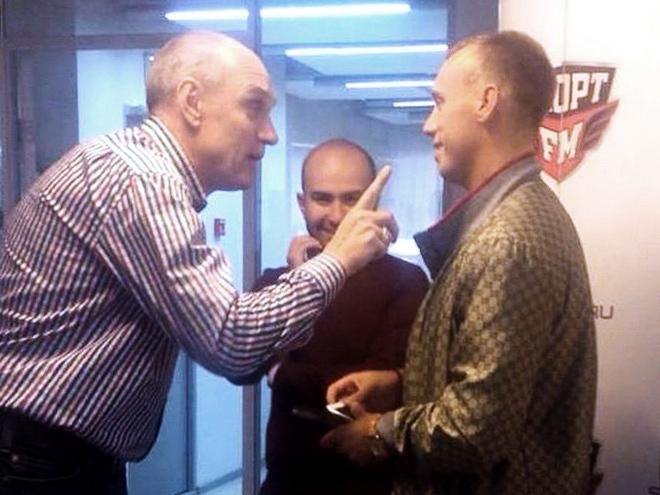 Александр Бубнов и Денис Глушаков