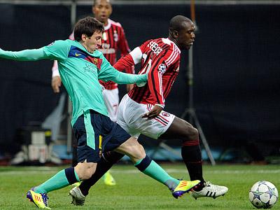 В Лиге чемпионов «Милан» принимает «Барселону», «Марсель» - «Баварию»