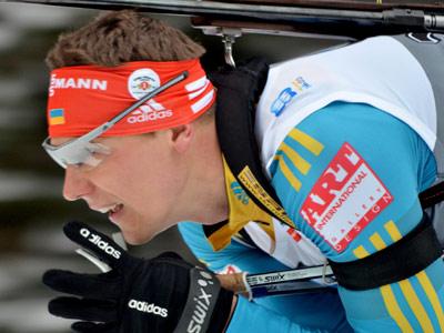 Андрей Дериземля стал третьим на этапе КМ