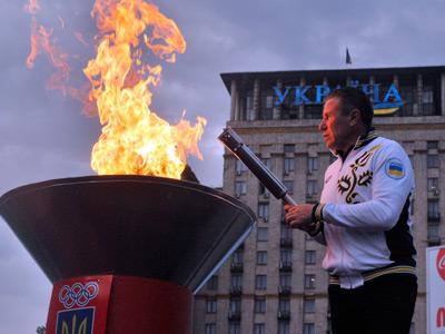 Олимпийскую сборную Украины торжественно проводили на Игры-2012