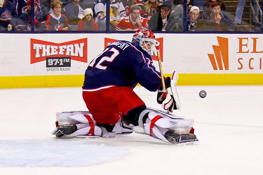 Сделай мне больно. Голкиперы НХЛ жалуются на синяки и шишки