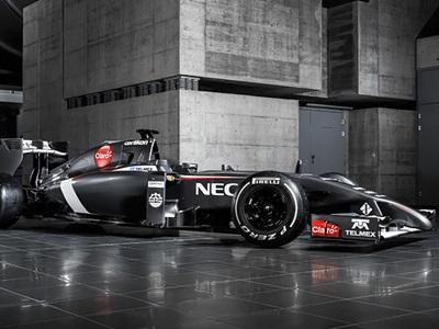 """Формула-1. """"Заубер"""" показал болид сезона-2014"""