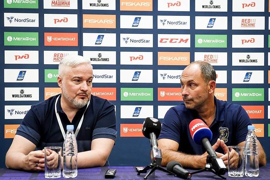 Сергей Воропаев и Сергей Зубов