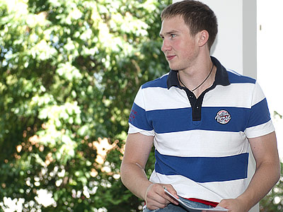 Ярослав Дыбленко - о себе, хоккее и перспективах