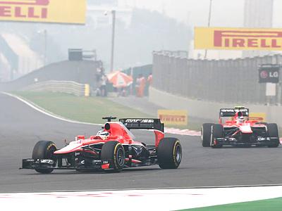 «Маруся» на Гран-при Индии