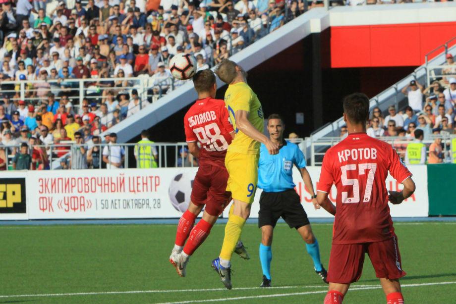 «Уфа» — «Домжале» — 0:0. Лига Европы