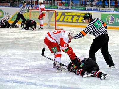 Первая часть обзора игрового дня КХЛ (7.12.12)