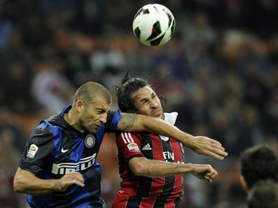 """7 октября 2012 года: """"Милан"""" — """"Интер"""""""