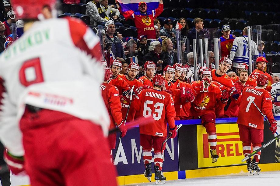 Россия — Беларусь — 6:0