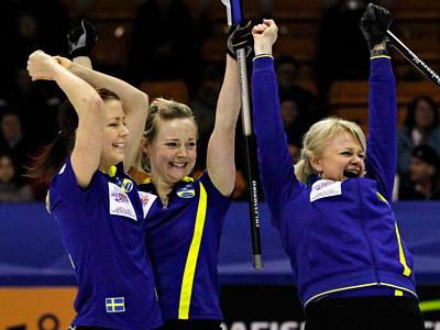 Норберг добыла для Швеции восьмую золотую медаль