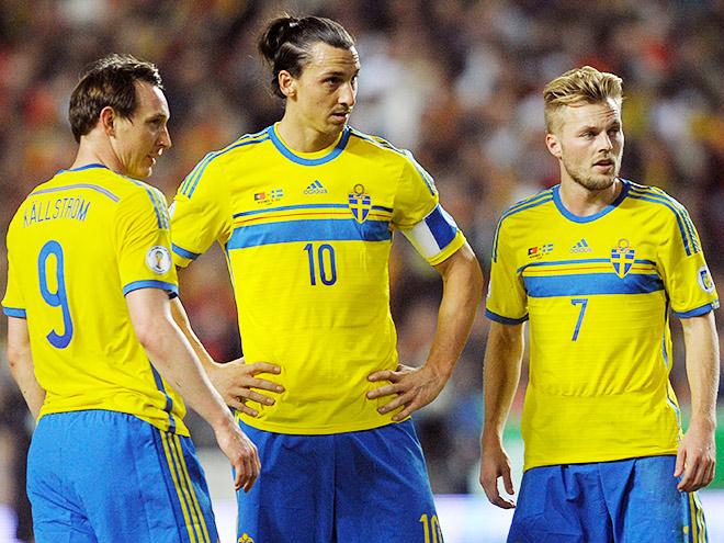 Сборная Швеции - соперник сборной России