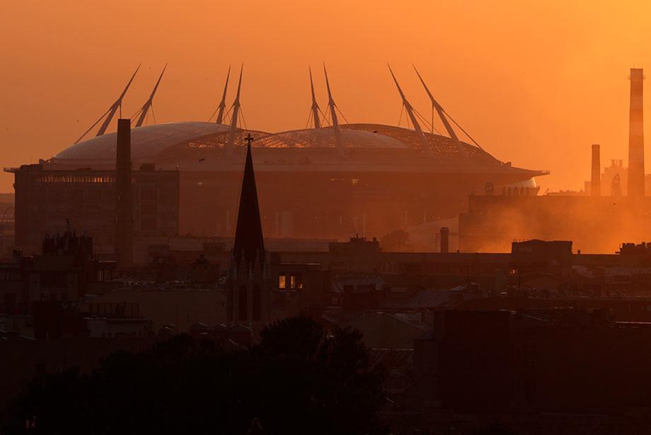 Санкт-Петербург может принять финал Лиги чемпионов в 2021