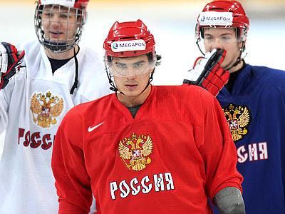 Сборная России готовится к матчу с США