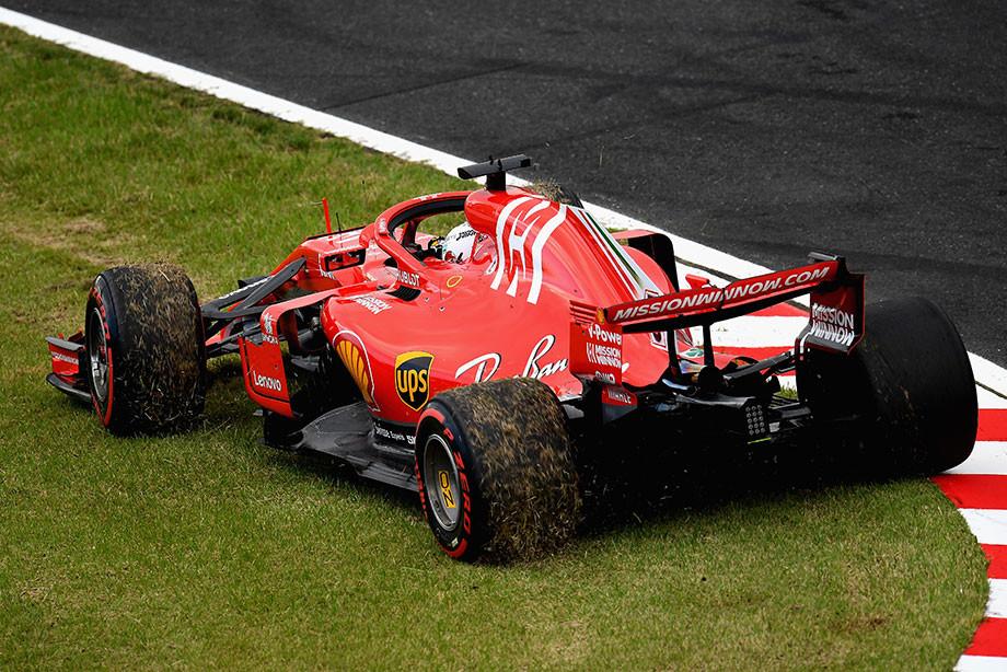 Феттель ещё приблизил пятый титул Хэмилтона. Оценки за Гран-при Японии