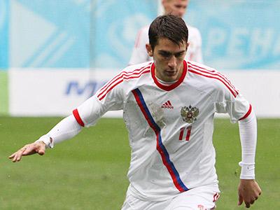Константин Базелюк в матче против Болгарии