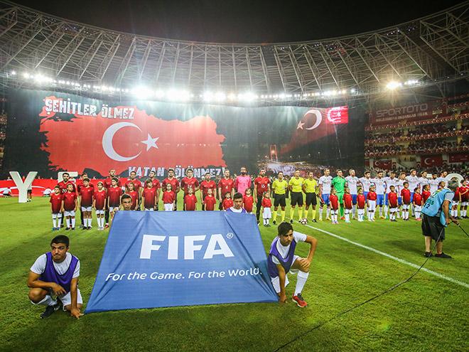 Сборная Турции – сборная России. 31 августа 2016. Обзор матча, видео, голы