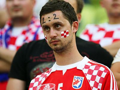 Сборная Хорватии проиграла Испании и покидает Евро-2012