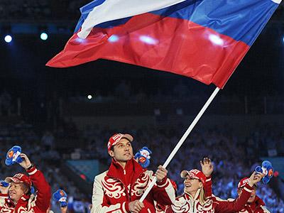 Олимпийские знаменосцы России и СССР