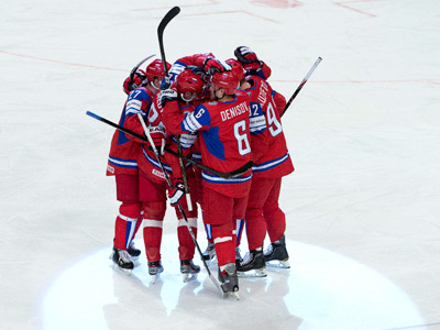 Сборная России выиграла второй матч на ЧМ
