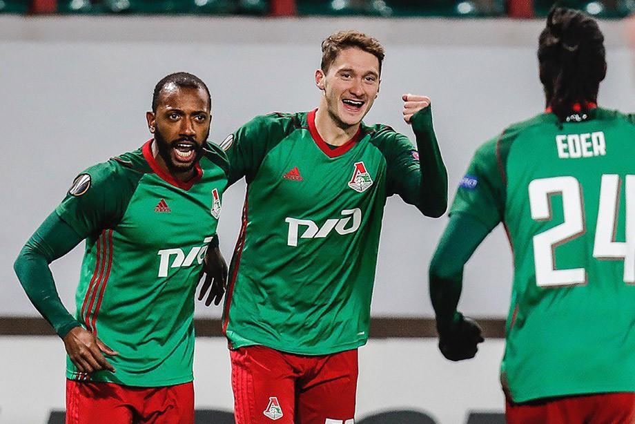 «Локомотив» вЛиге Европы уверенно победил чешский «Фастав Злин»