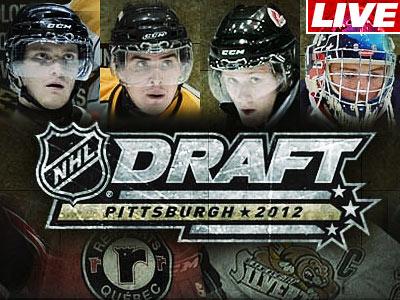 Прямая текстовая трансляция драфта юниоров НХЛ