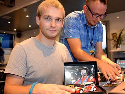 Новиков — о пятом месте на Ралли Испании WRC