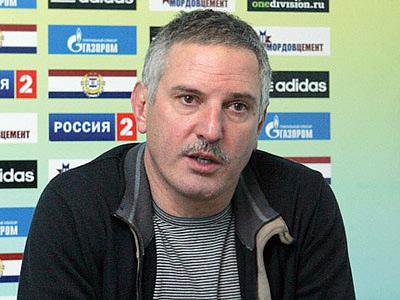 "Тренер ""Мордовии"" Фёдор Щербаченко"