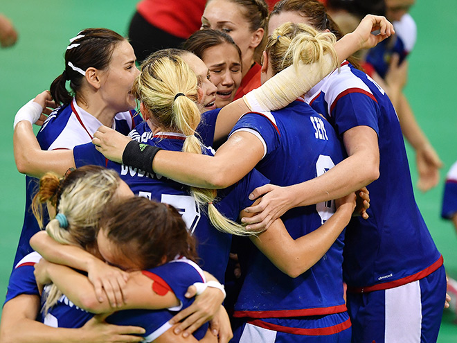 Женская сборная России по гандболу