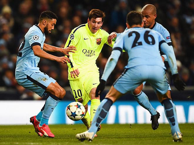«Барселона» — «Манчестер Сити»