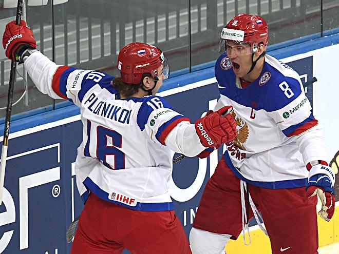 Сергей Плотников и Александр Овечкин