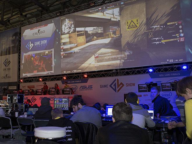 Киберспорт представлен на выставке «Игромир-2016»