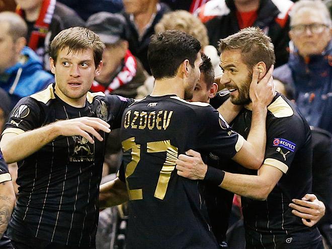 «Ливерпуль» — «Рубин». Обзор матча — 1:1