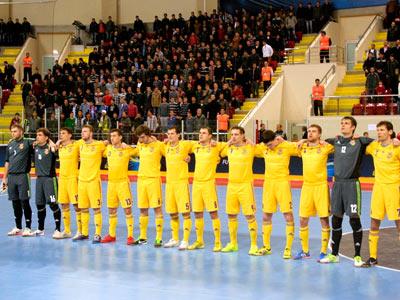 Сборная Украины по футзалу обыграла венгров