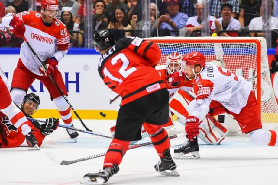 НаЧМ похоккею Канада разгромила Южную Корею срезультатом 10:0