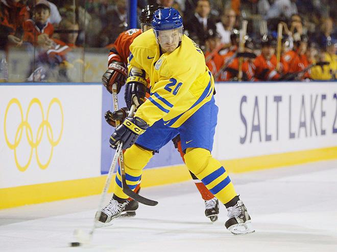 Магнус Арведсон в составе сборной Швеции