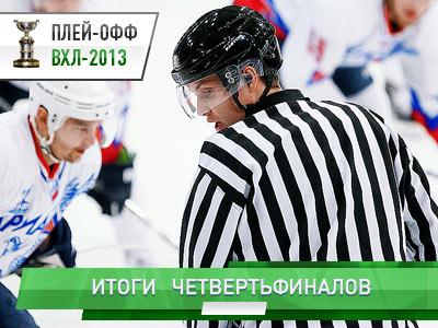 Обзор четвертьфинальных серий Братины