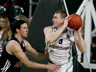 «Будивельник» одержал победу над БК «Донецк» в Кубке Суперлиги