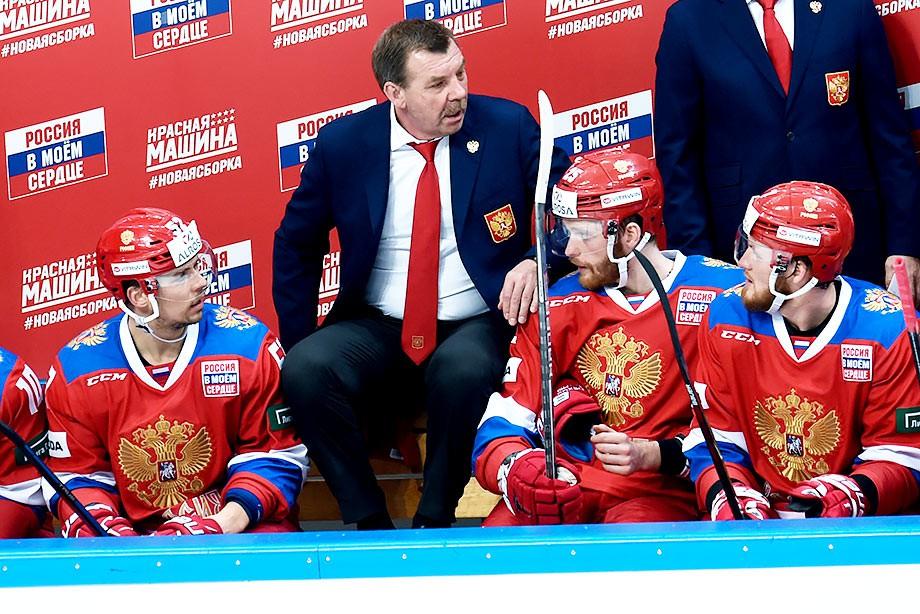 Олег Знарок, сборная России по хоккею