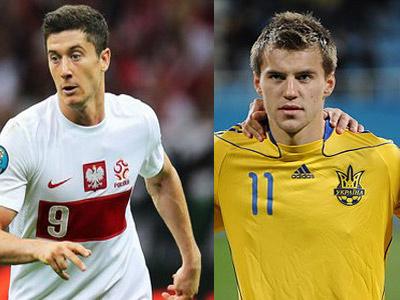 Сколько стоят игроки сборных Украины и Польши