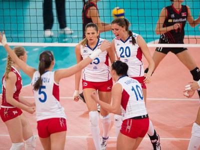 Чемпионат Европы. Россия — Турция