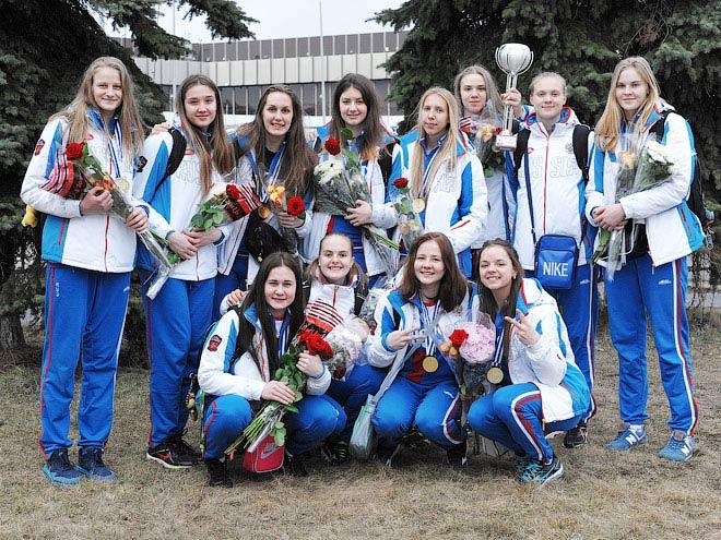 Юниорская сборная России выиграла ЧЕ