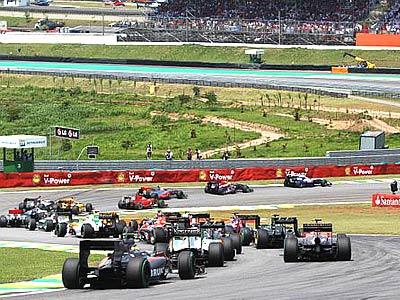 Хронометр: Гран-при Бразилии