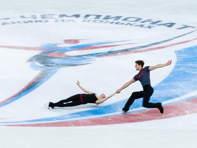 Первый день чемпионата России по фигурному катанию