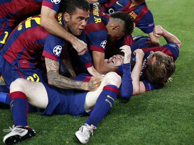 Три финала «Барселоны»