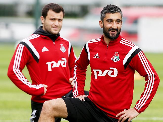 Алан Касаев и Александр Самедов