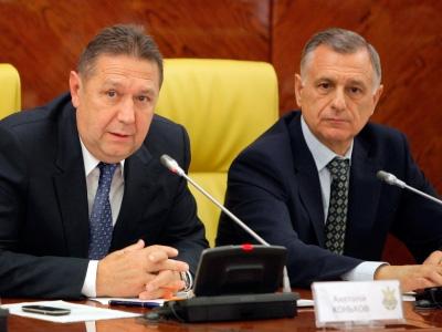 Анатолий Коньков и Анатолий Попов