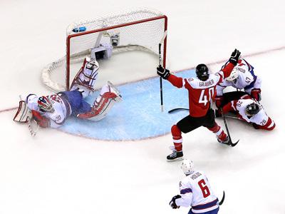 Сочи-2014. Хоккей. Австрия - Норвегия - 3:1