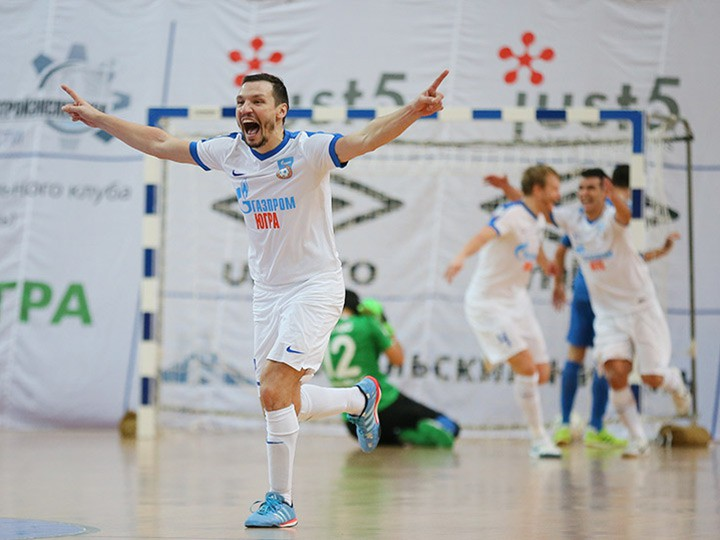 МФК «Динамо» – МФК «Газпром-Югра» — 1:2
