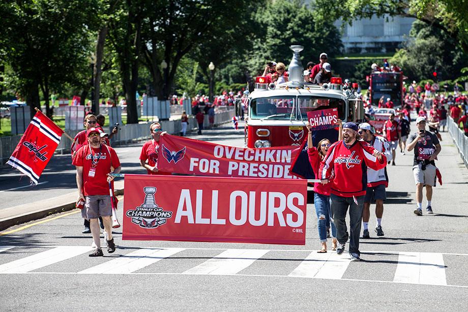 «Вашингтон» провёл чемпионский парад