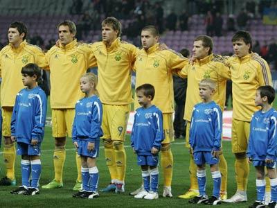 Сегодня Украина сыграет первый матч на Евро-2012